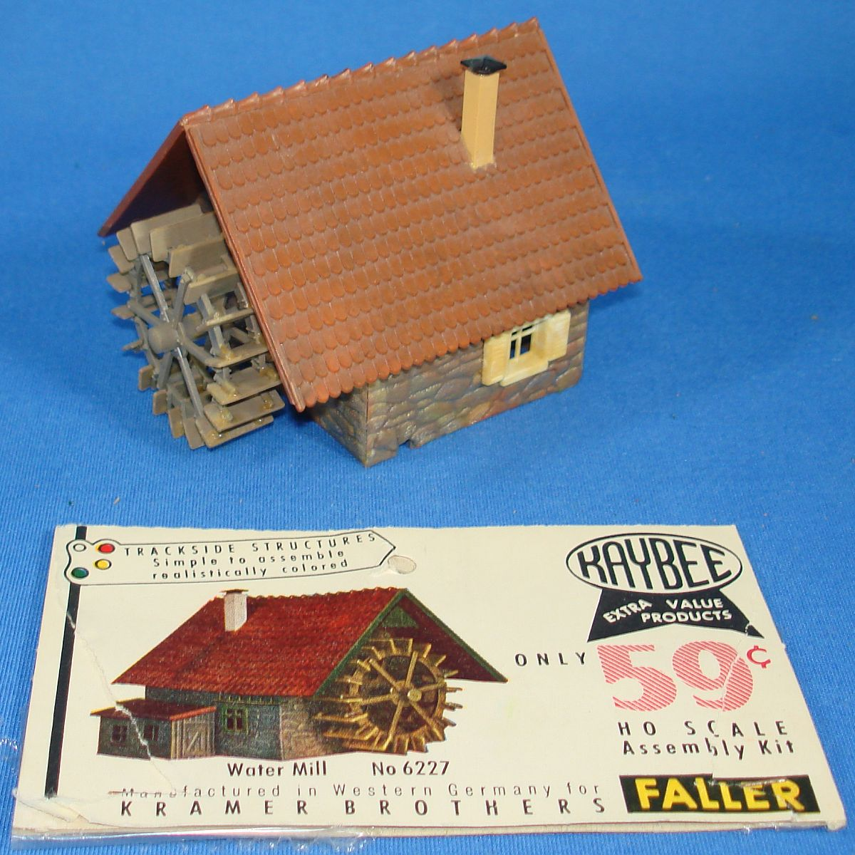 Faller Kaybee Kramer Brothers Trackside Structures HO Scale Assembly Kit Water Mill 6227