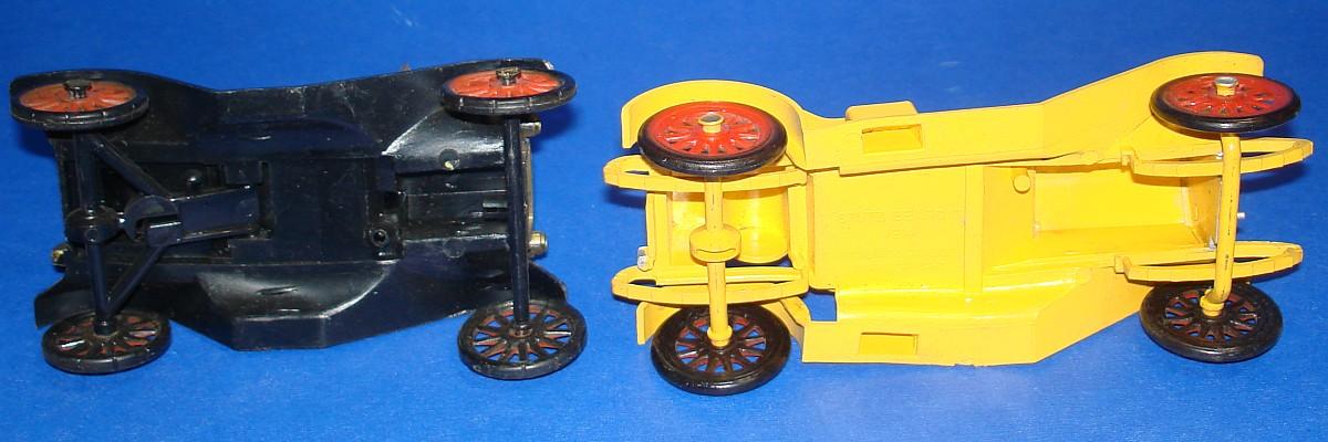 Vintage Highway Pioneers Gowland & Gowland Copyright Model T & Stutz Bearcat Axles Wheels Tires