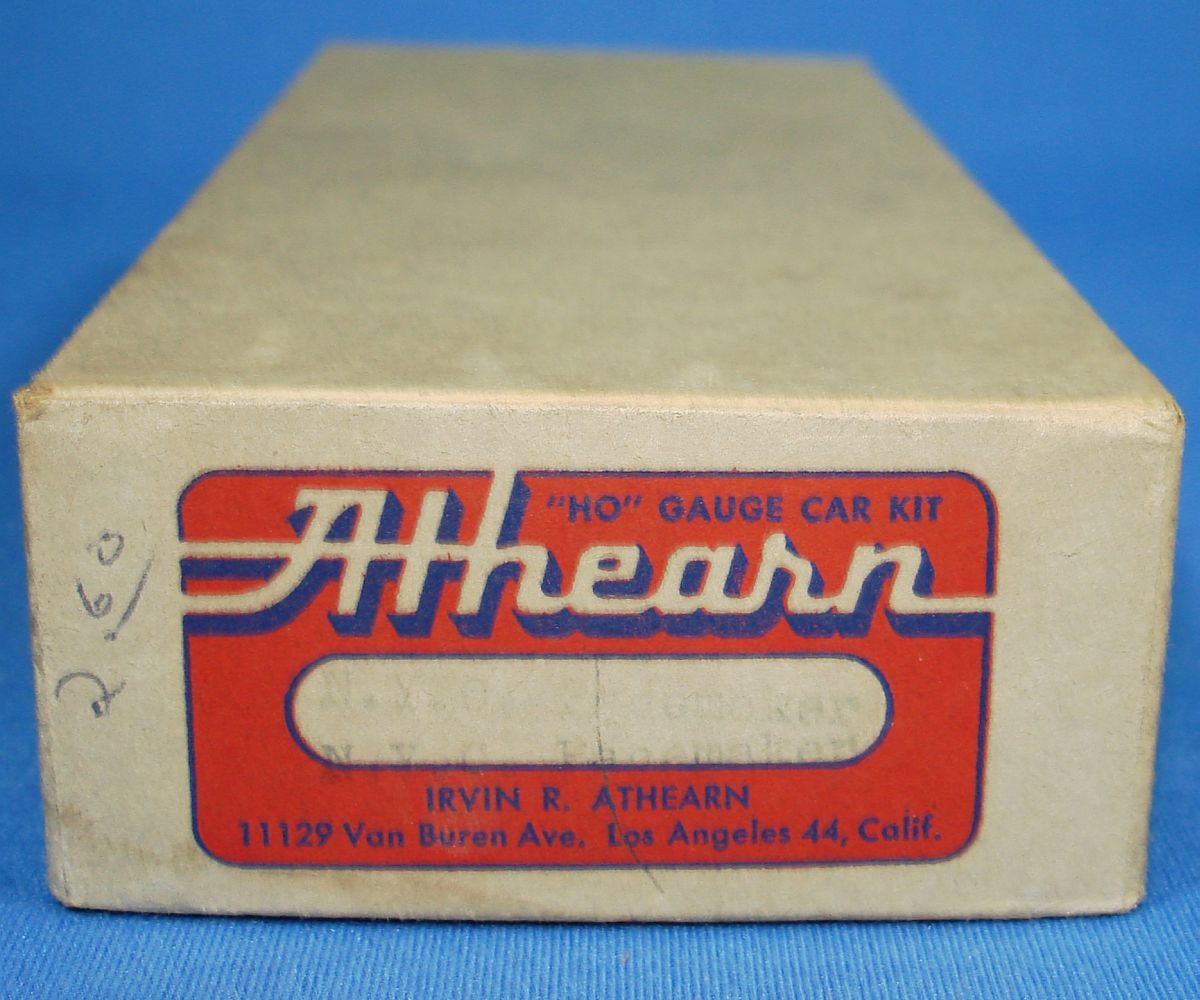 Vintage HO Gauge Irvin Athearn NYC Pacemaker Freight Service Boxcar 174371 Box