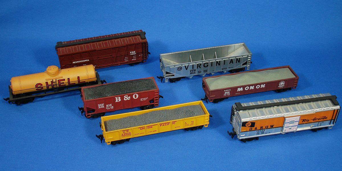 Vintage model train transformers
