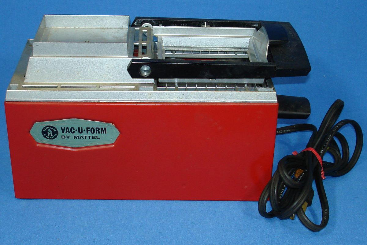 MATTEL VAC-U-FORM 422 UNDERWRITERS LABORATORY UL HEATING ELEMENT ...