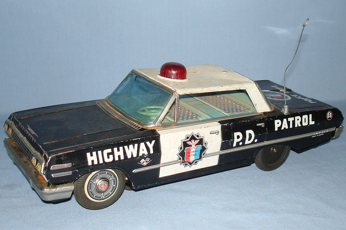 1940's Vintage Lead Toy Car Truck Police Taxi Milk Fire for sale
