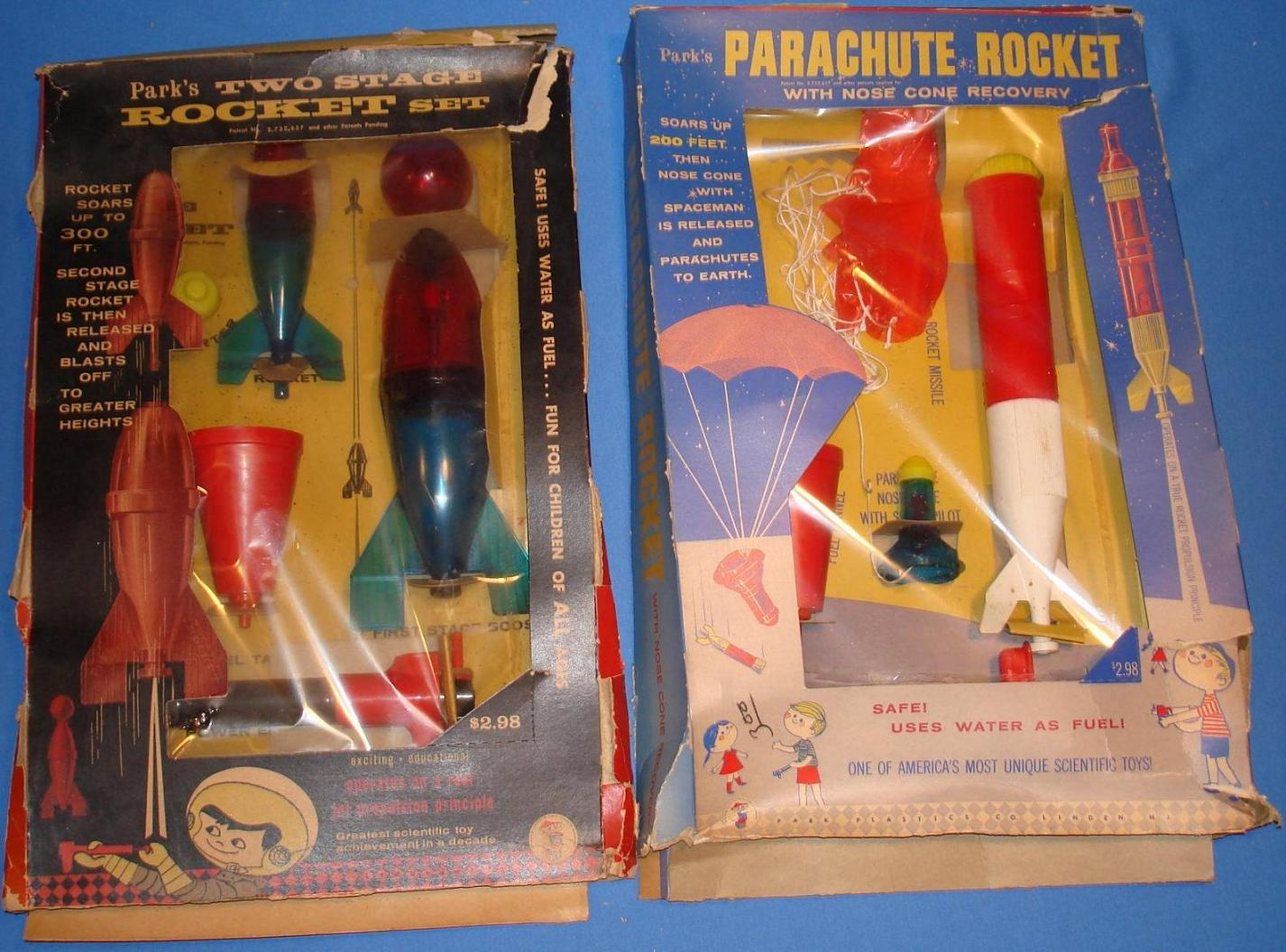 how to make water rocket with parachute