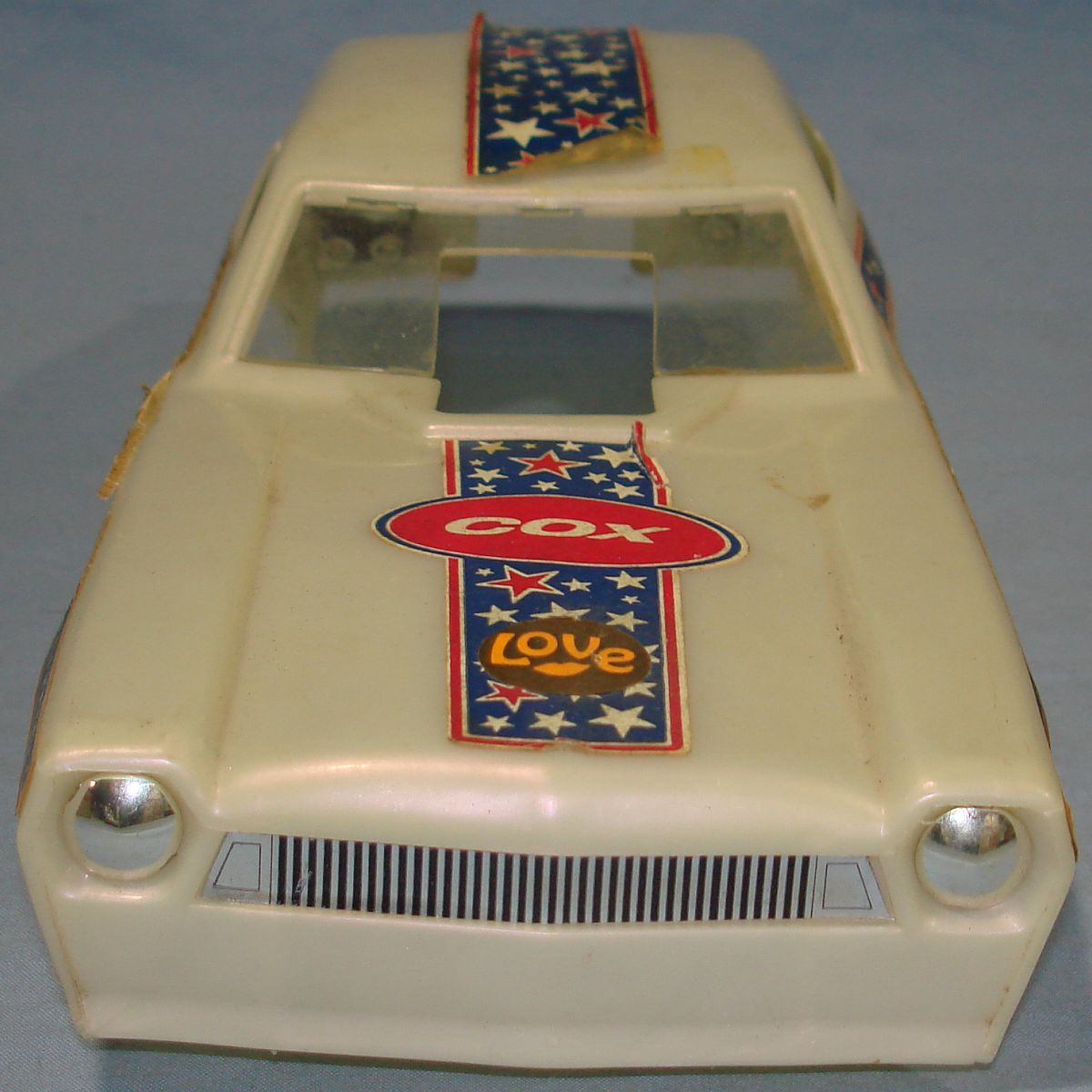 Vintage Cox Bill Shifsky Ford Pinto 0.049 Gas Powered Drag Tether Car