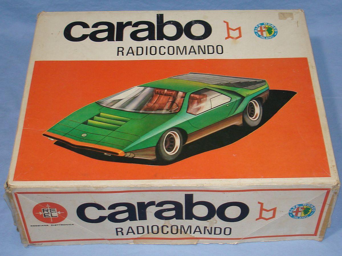 REEL Reggiana Electronica Radiocomando Alfa Romeo Carabo Milano Italy Box