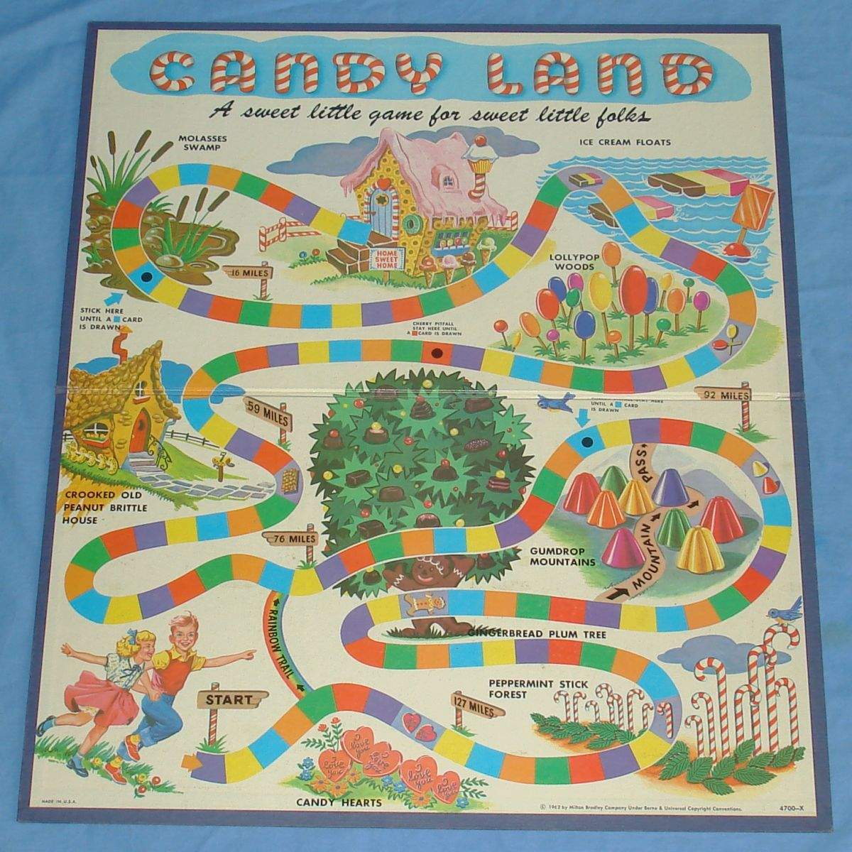 Vintage Candyland Board Game 109