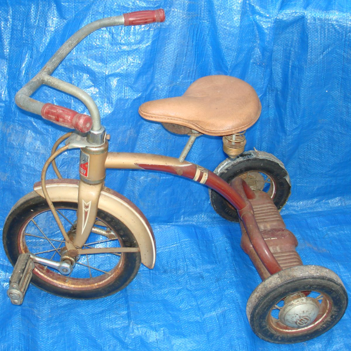 Vintage Murray Mercury Child Tricycle Bike