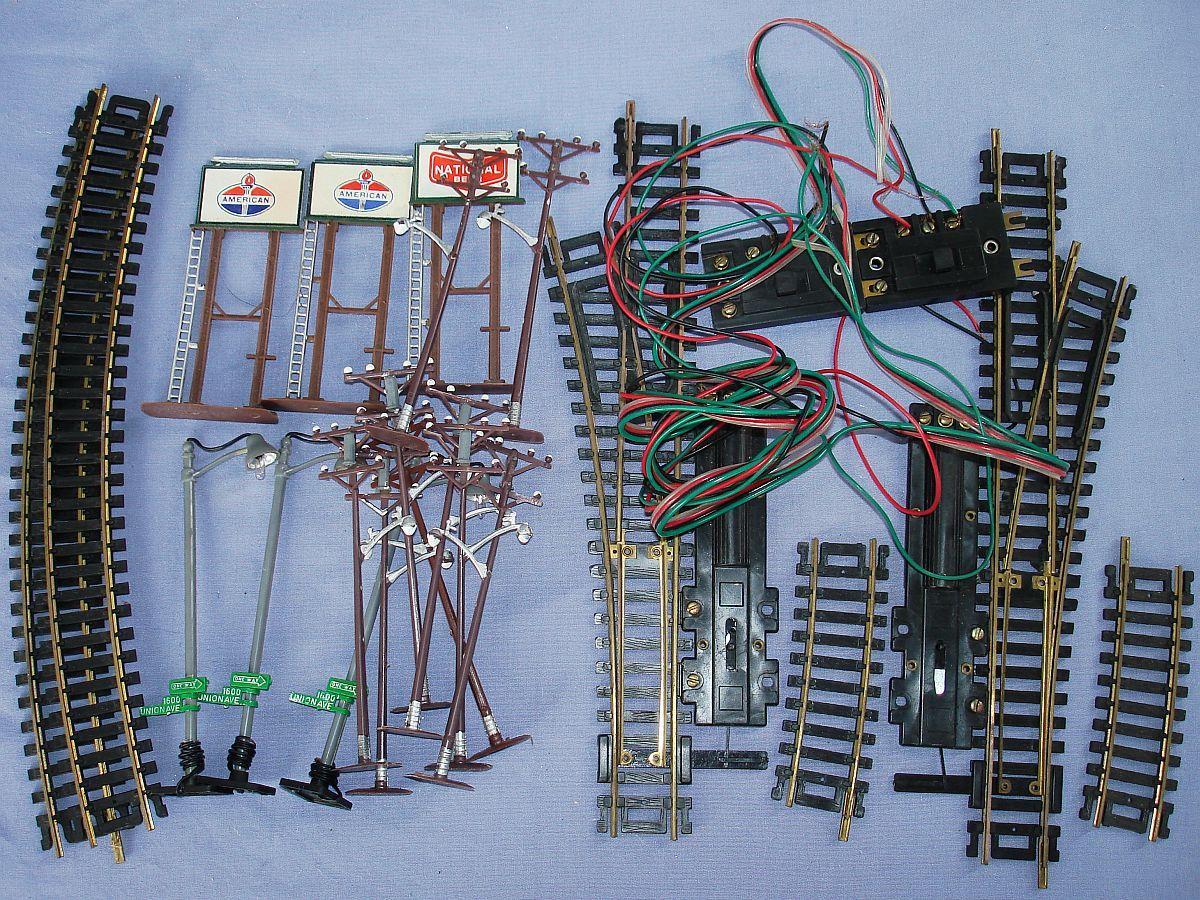 Lifelike HO Model Railroading Train Track Right Left Hand RH LH Switch Lot