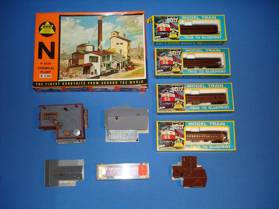 AHM N Scale Model Train Collection