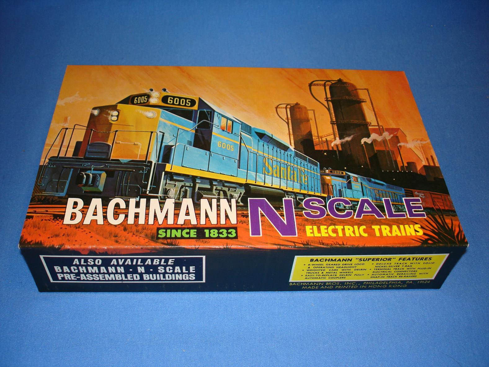 Bachmann N Gauge Train Set 4 Color Sleeve