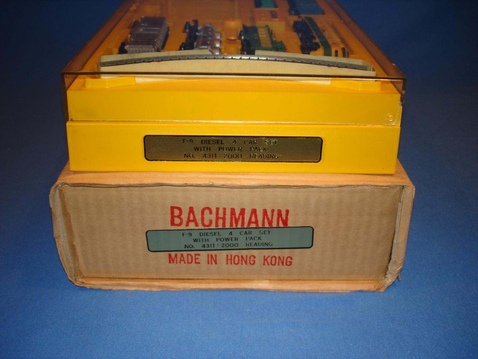 Bachmann N Gauge Train Set NMIB Package