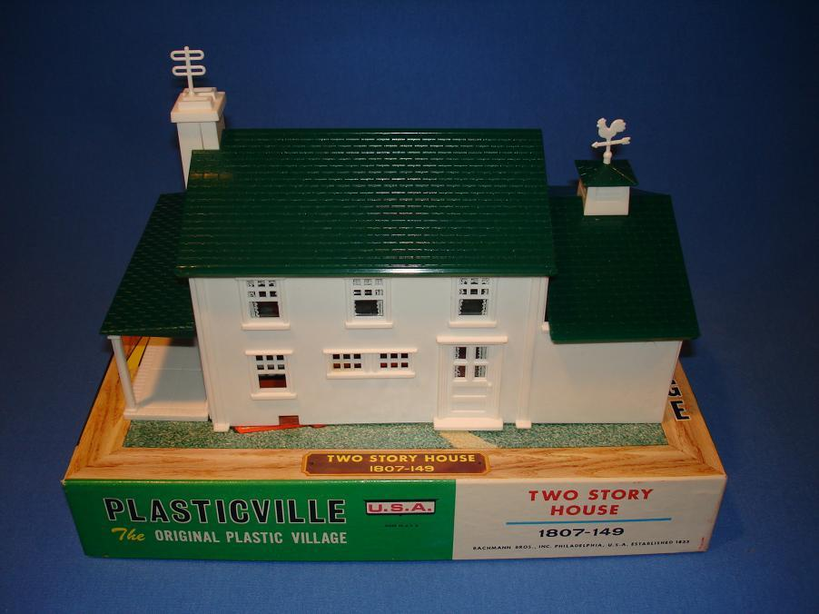 Plasticville 2 Story House