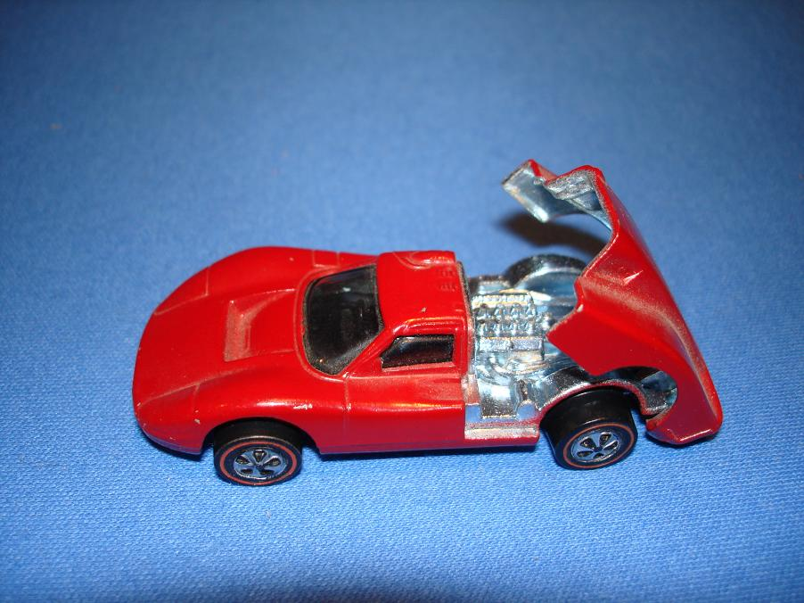 Mattel Hot Wheels Diecast Ford Mark IV