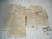 Lionel 027 Trains Paperwork