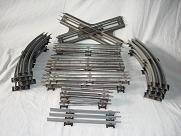 23 Sections Lionel 027 Train Track