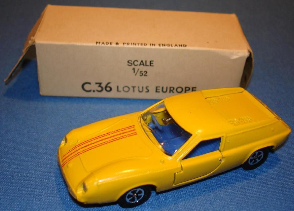Lone Star Lotus Europa Box Hood