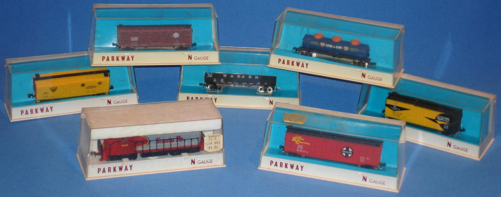 Parkway N Gauge Model Train Collection