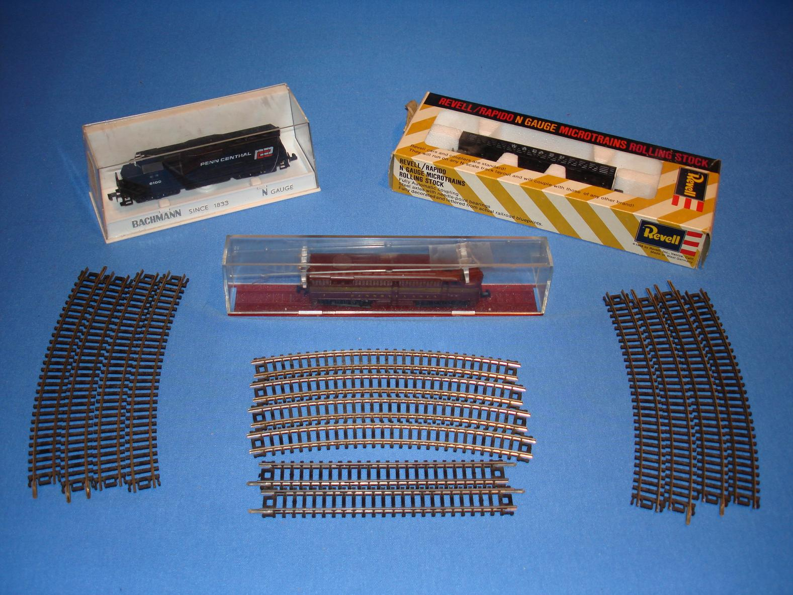 N Gauge Model Train Assortment