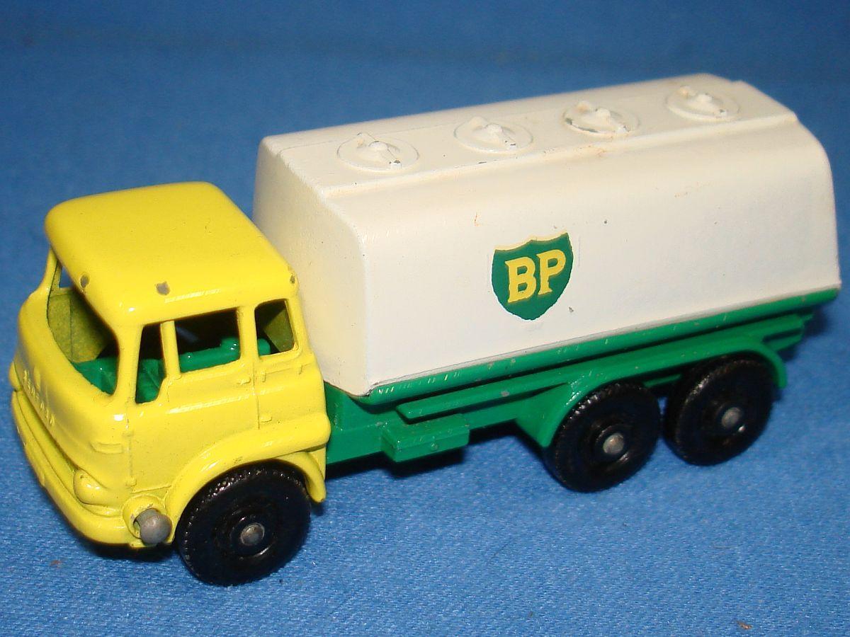Vintage Matchbox Lesney 25 Bedford Petrol Tanker Truck Cab