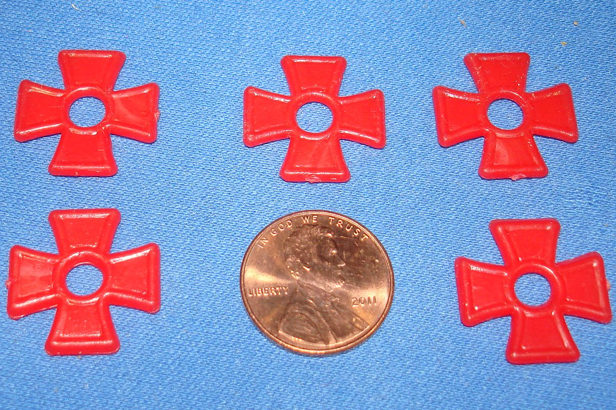 Milton Bradley MB #4032 American Heritage Dogfight German Red Insignia Crosses