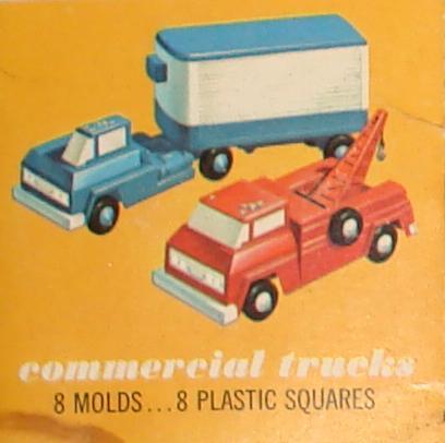 Mattel MIB Vacuform Commercial Trucks Kit 440