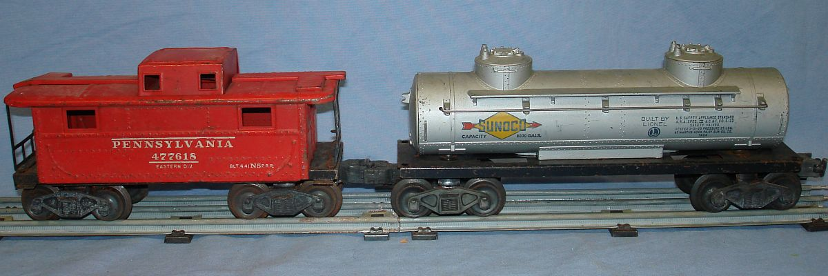 Vintage Lionel Lines 1654 Steam Locomotive Tender 027 Train Track