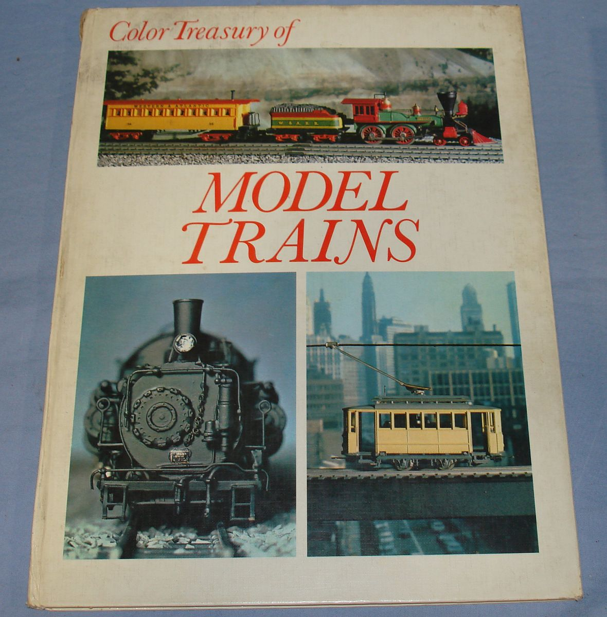 Vintage Color Treasury Of Model Trains Crescent 1972 64 Pages