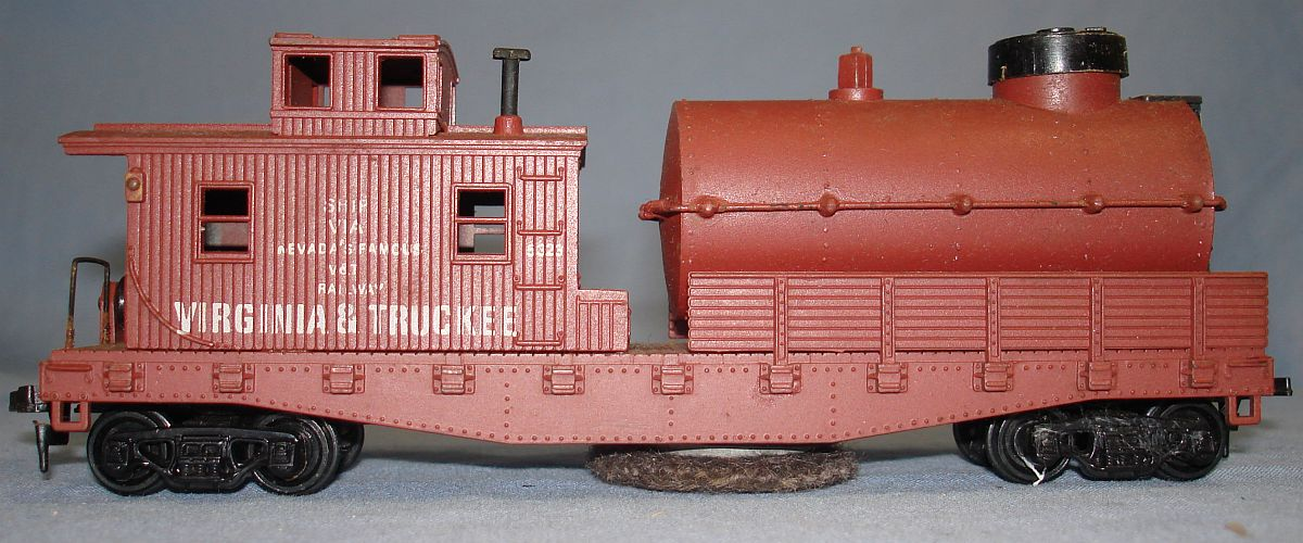 Vintage Life-Like Products Virginia Truckee V&T Railway Track Cleaning Caboose Car #5323