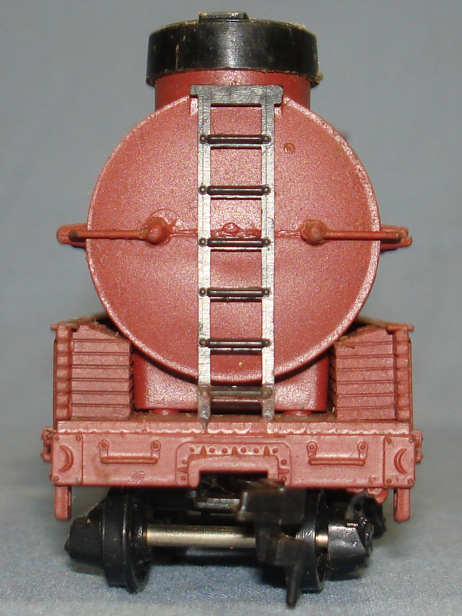 Vintage Life-Like Products Virginia Truckee V&T Railway Track Cleaning Caboose Car #5323 Front