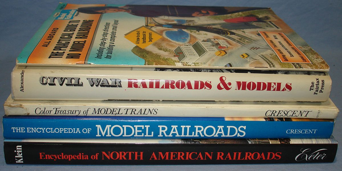 Vintage Model Railroads Trains Books Encyclopedias Handbooks 888 Pages