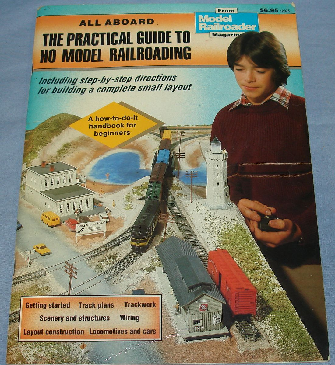 Vintage The Practical Guide To HO Model Railroading Kalmbach 1986 88 Pages