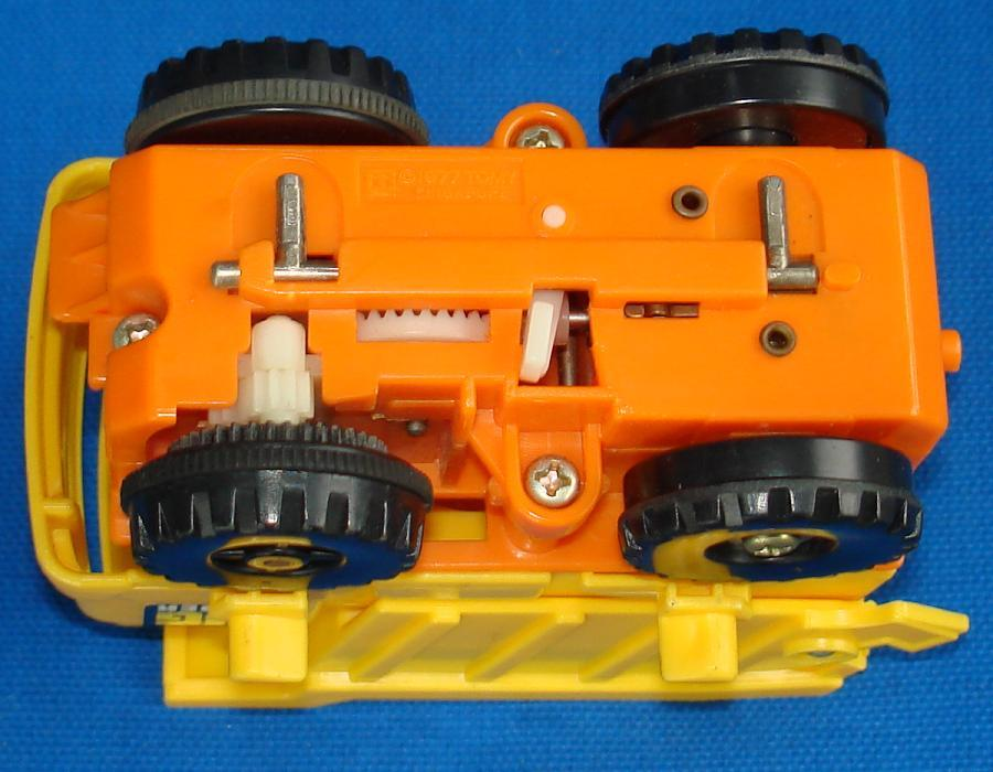 Tomy Big Loader Construction Set #5001 Dump Truck Motorized Chassis