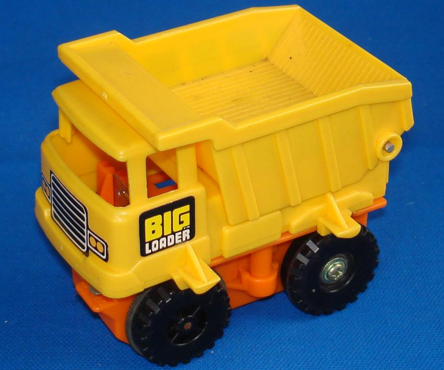 Tomy Big Loader Construction Set #5001 Dump Truck Cab