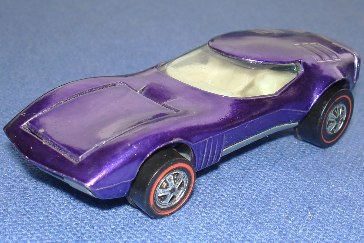 Mattel Hot Wheels Diecast Purple Torero Hood
