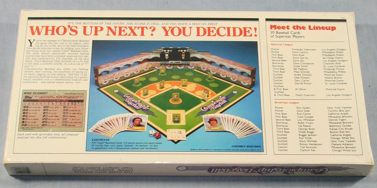 Baseball Board Game Saga Hair Website