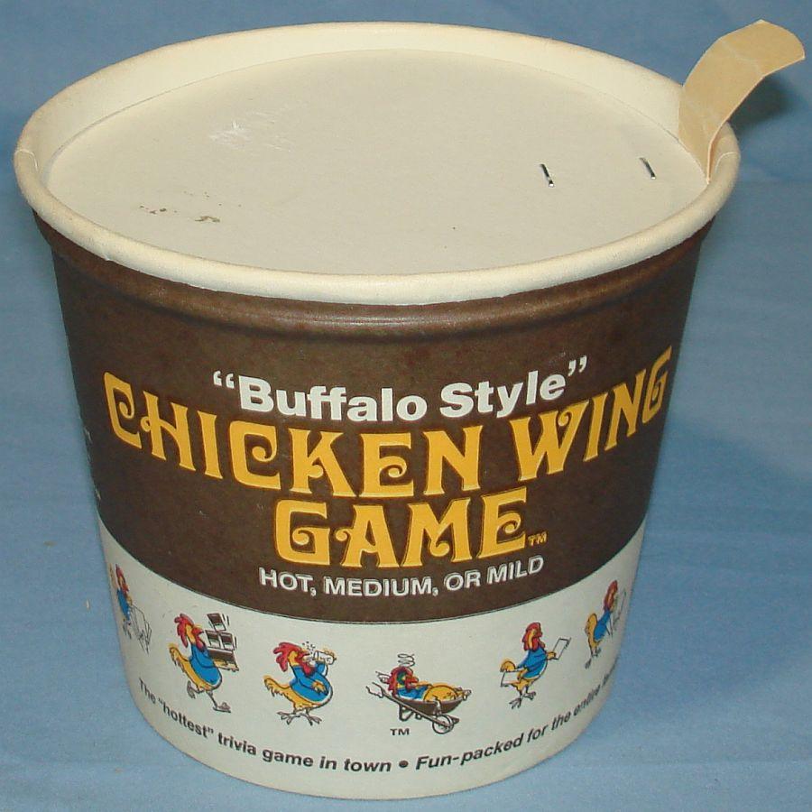 Buffalo Style Chicken Wings Game Hot Medium Mild