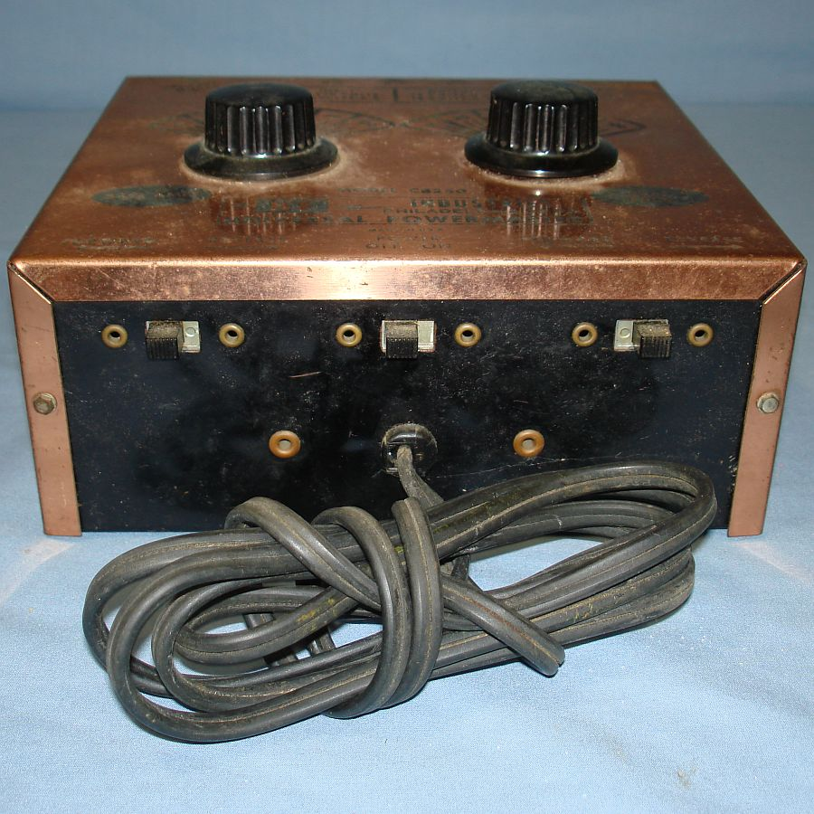 Vintage KF Industries Universal Powermaster HO Train Transformer Model CB250Forward Reverse On Off