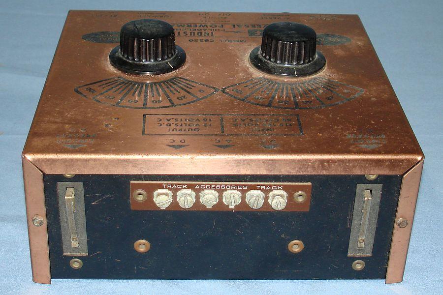 Vintage KF Industries Universal Powermaster HO Train Transformer Model CB250 Track Accessories
