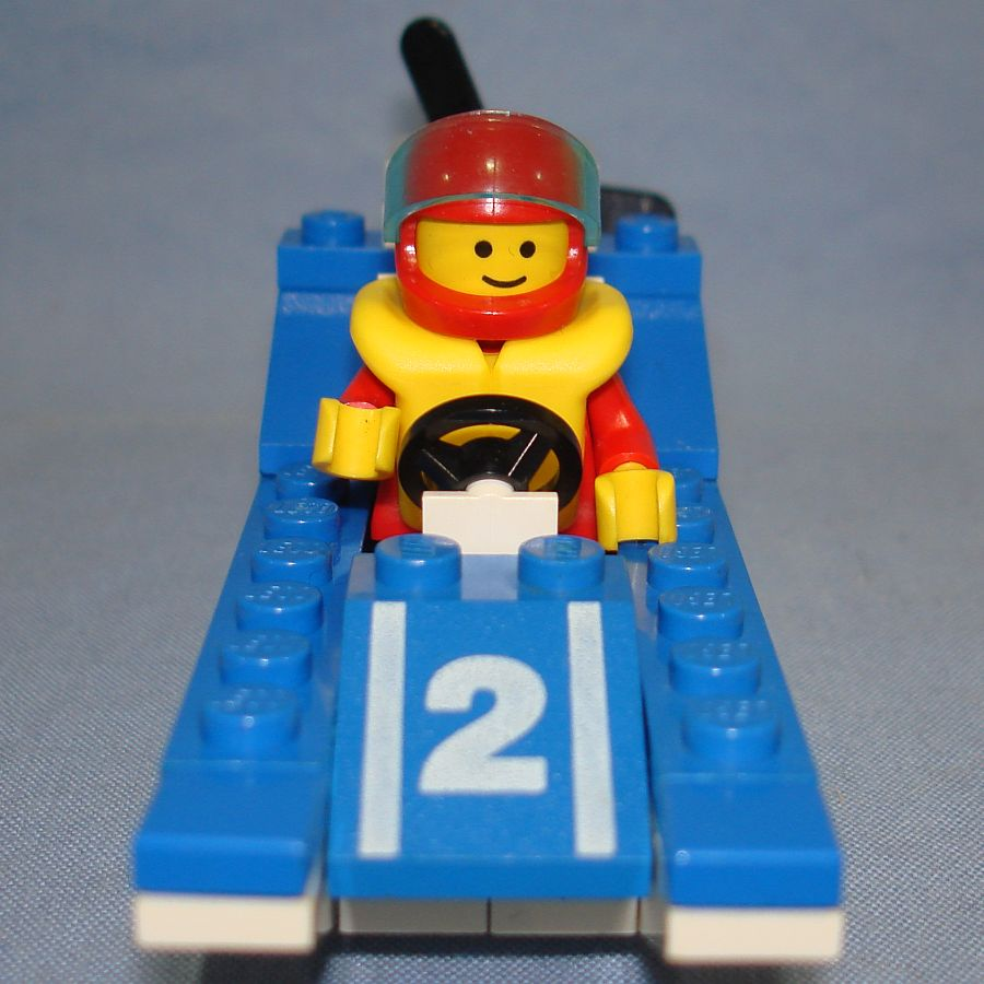 Lego Legoland Wave Racer Speed Boat Vehicle & Minifig #6508 Bow