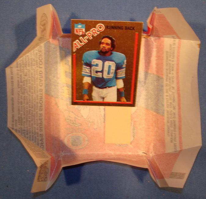 Topps 1982 Billy Sims Foil Card