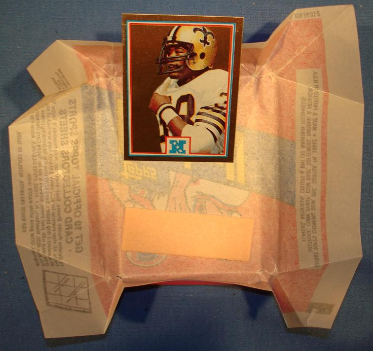Topps 1982 George Rogers Foil Card