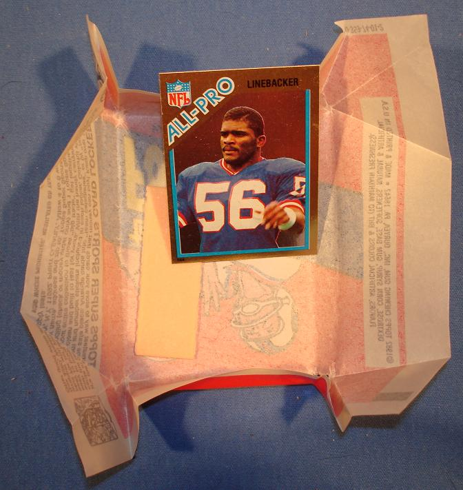 Topps 1982 Lawrence Taylor Foil Card