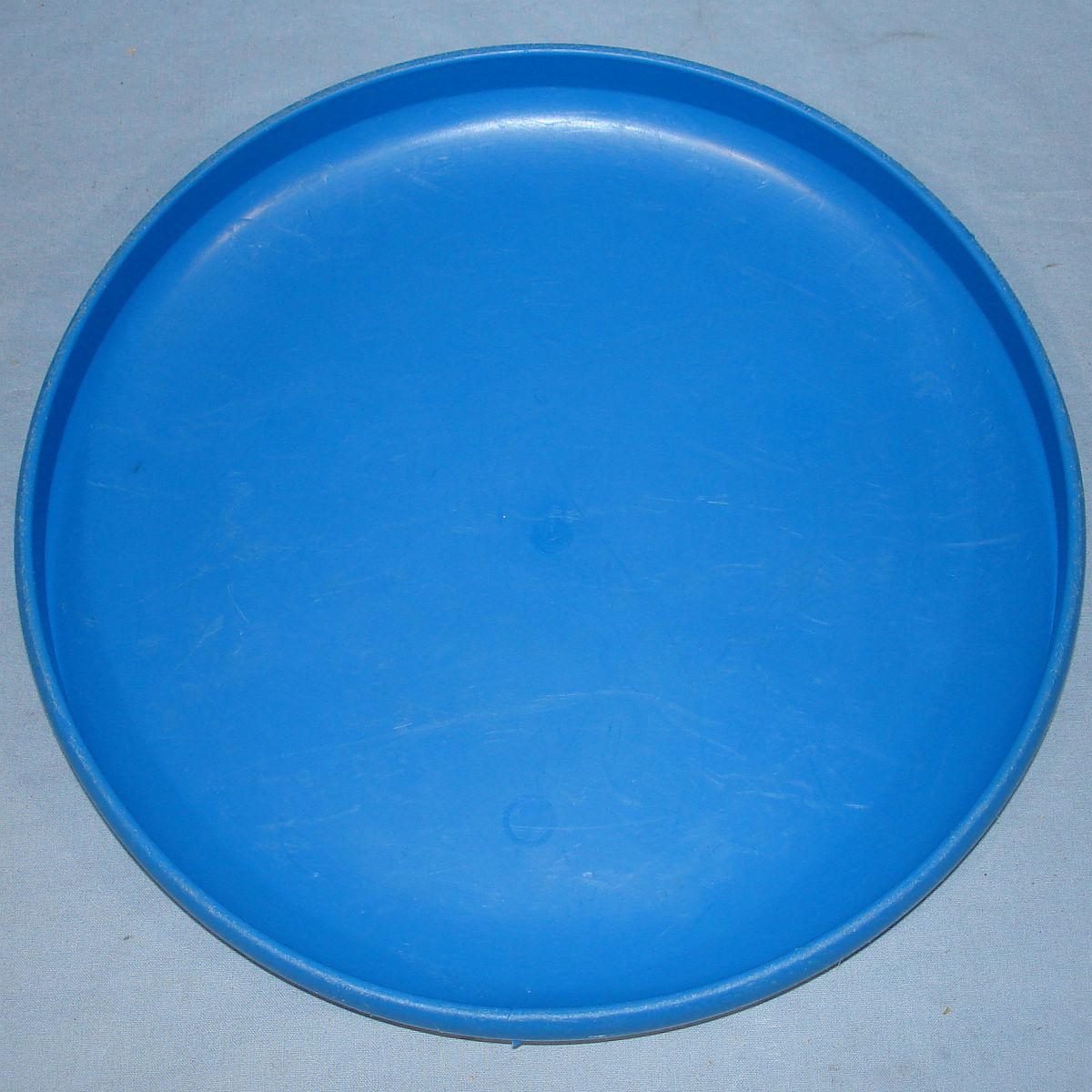 Vintage 1980 Wham-O Frisbee Disk Mexico Blue Yellow Black Rocket Ship