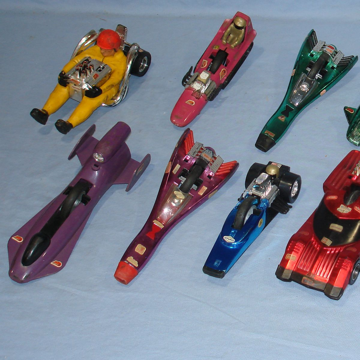 Vintage Kenner SSP Super Sonic Power Racers Lot Pull Cords Left