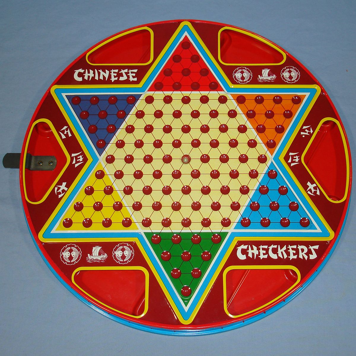 Vintage Ohio Art Chinese & Regular Checkers #538 Front