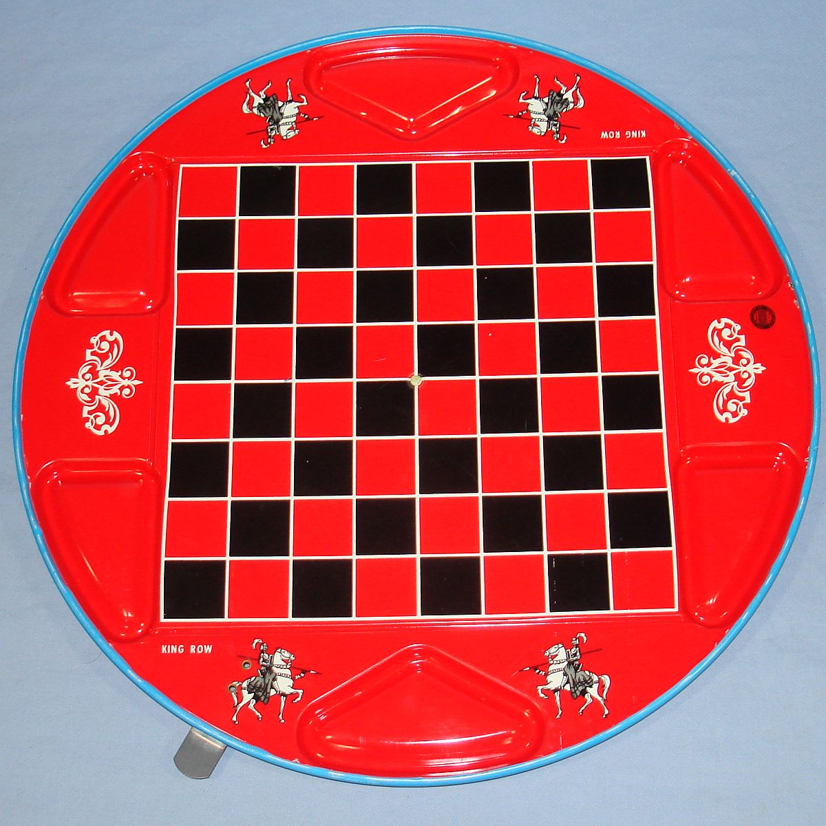 Vintage Ohio Art Chinese & Regular Checkers #538 Back