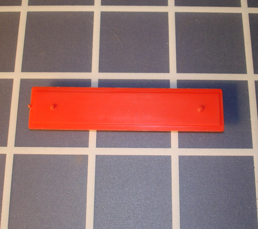 Ideal Mouse Trap Game Piece Red Diving Board
