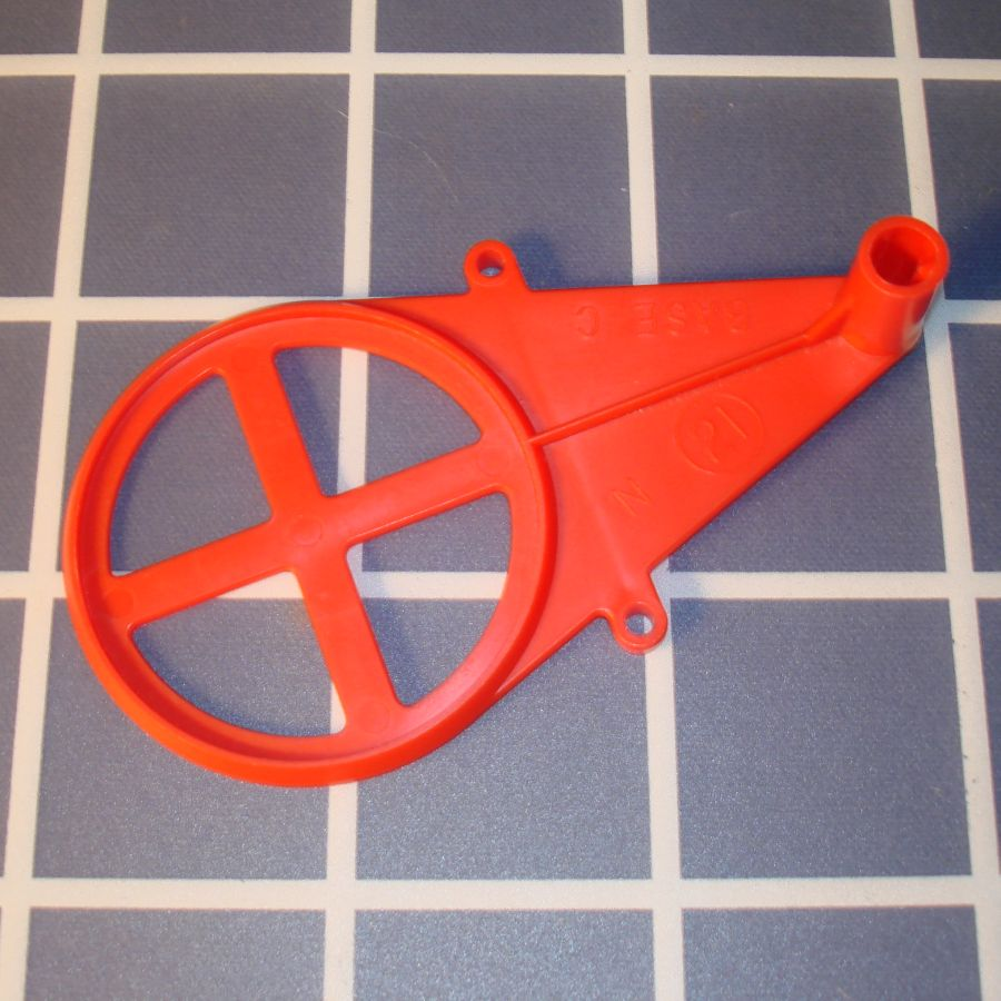 Ideal Mouse Trap Game Piece Red Base C