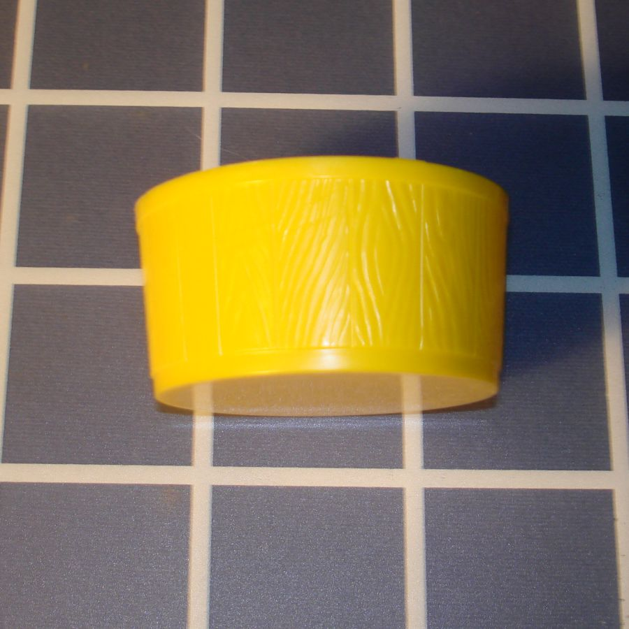 Ideal Mouse Trap Game Piece Yellow Wash Tub