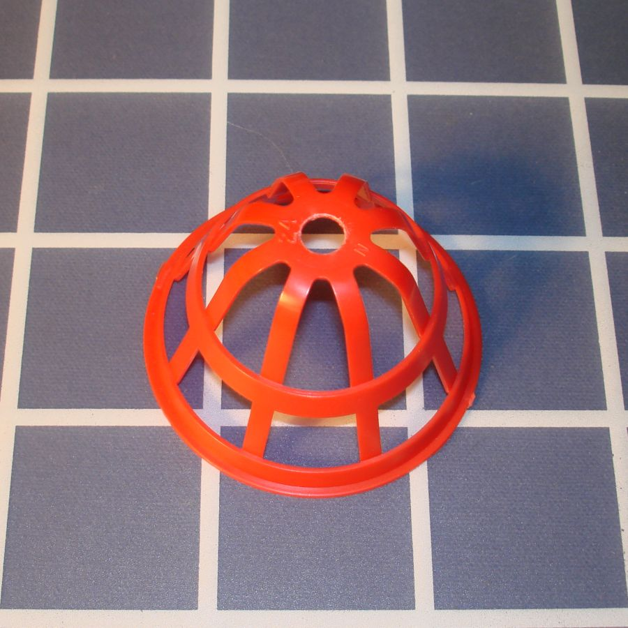 Ideal Mouse Trap Game Piece Red Cage